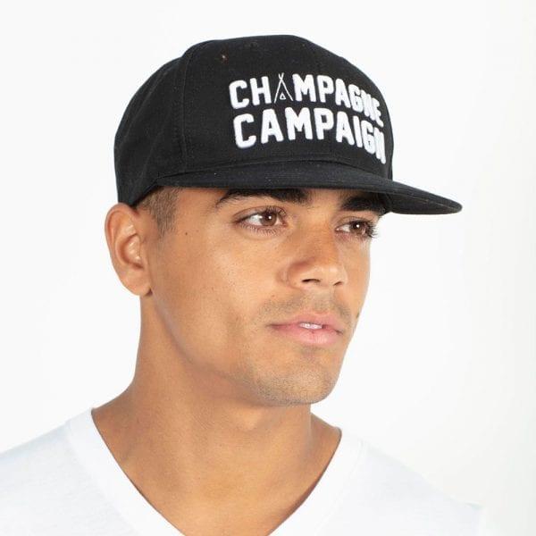 Champagne Campaign Hat