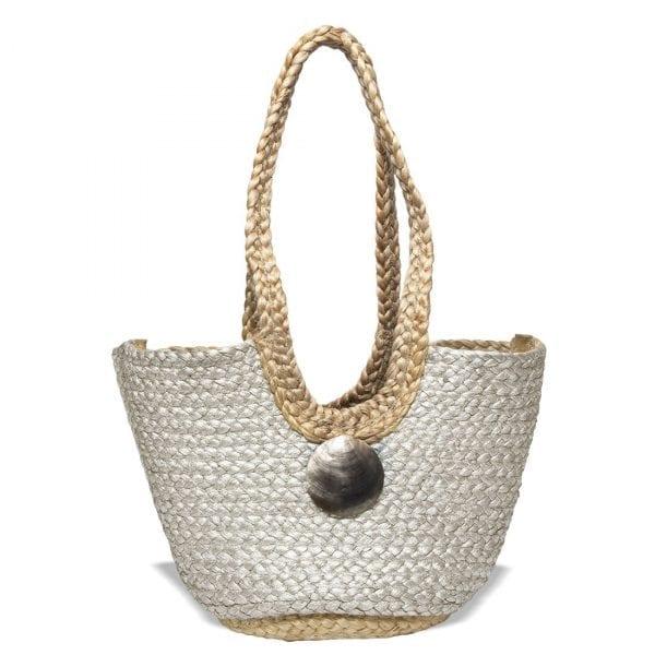 Saint Barth Silver Bag