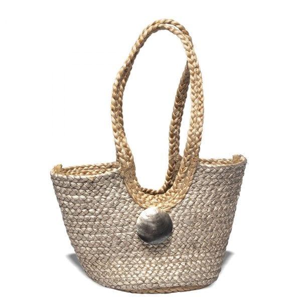 Saint Barth Gold Bag