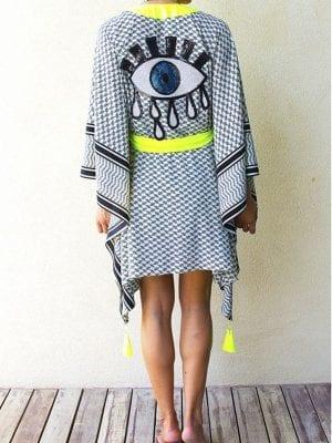 Mystique Evil Eye Kimono