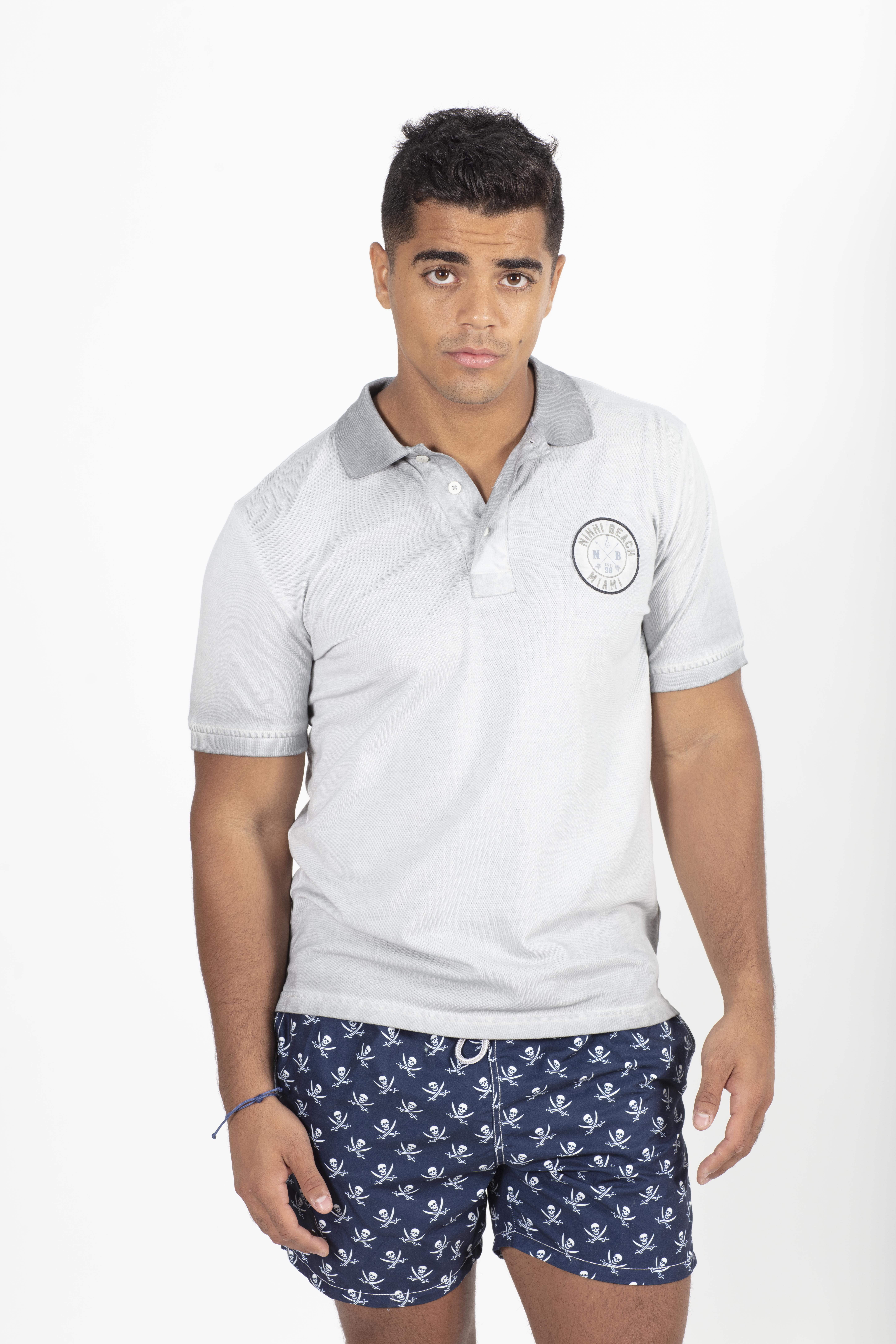 Men's Polo With Patch